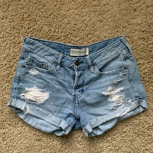 Abercrombie and Fitch boyfriend shorts